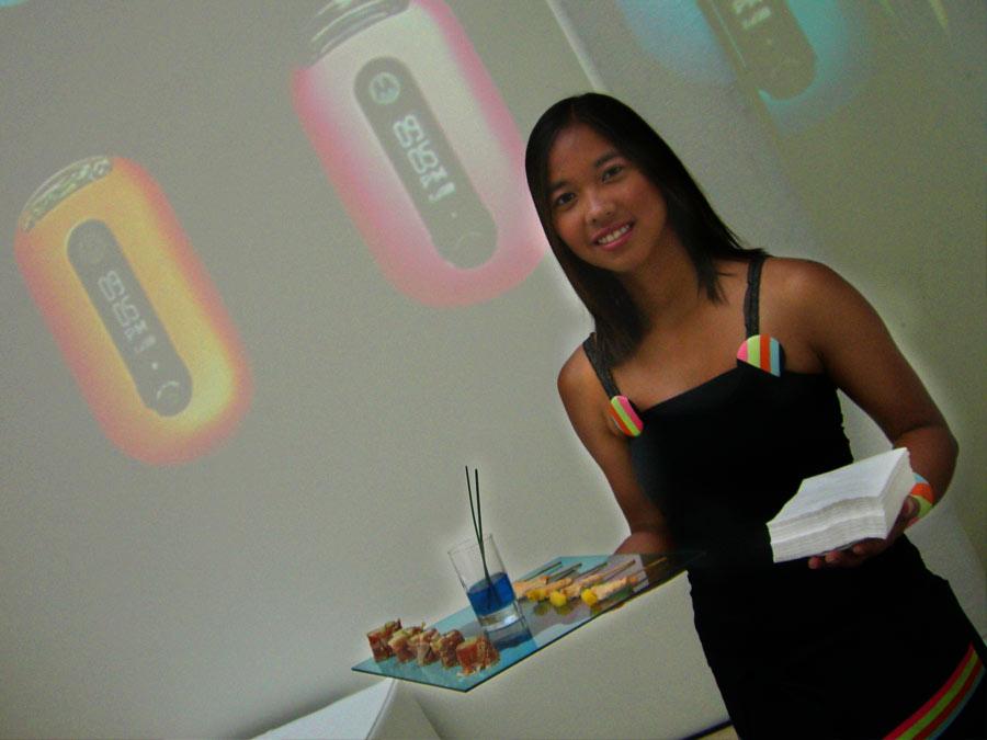 Moto PEBL Präsentation von Event Caterer CATERISTIC