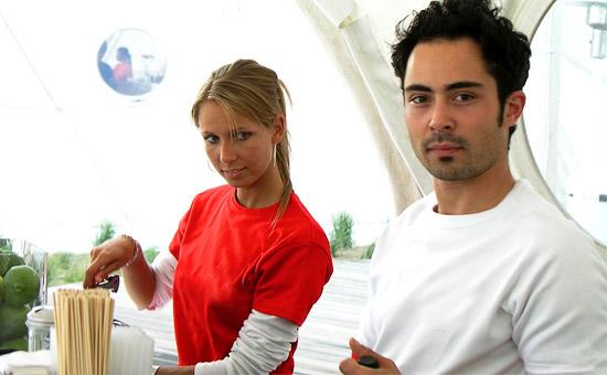 Catering Team von CATERISTIC - motivierte young professionals mit Liebe zum Detail