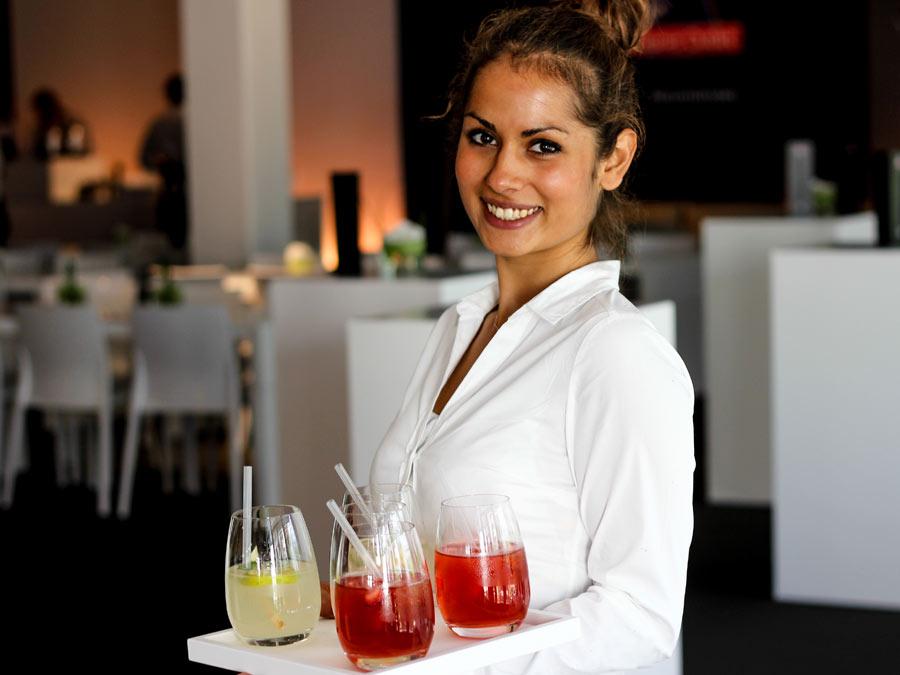 Hausgemachte Limonaden zur VIP Hospitality