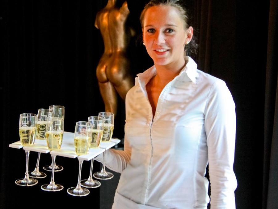 Champagner im Flying Service zum Catering in Berlin