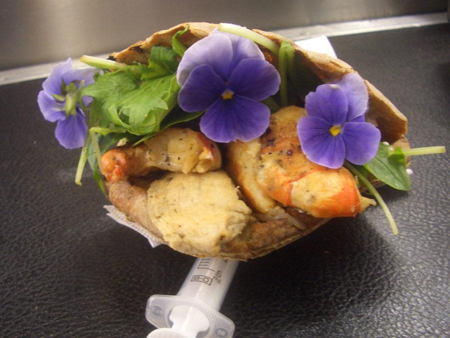 Innovative Snacks beim Public Catering für PUMA
