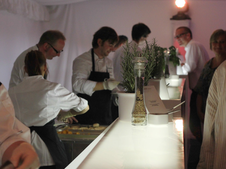 Live Cooking in Lüdinghausen zum Eventcatering bei Vedder