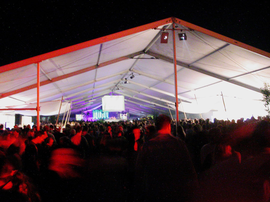 Barcatering am Strand : Nationaler b-live auf Sylt.