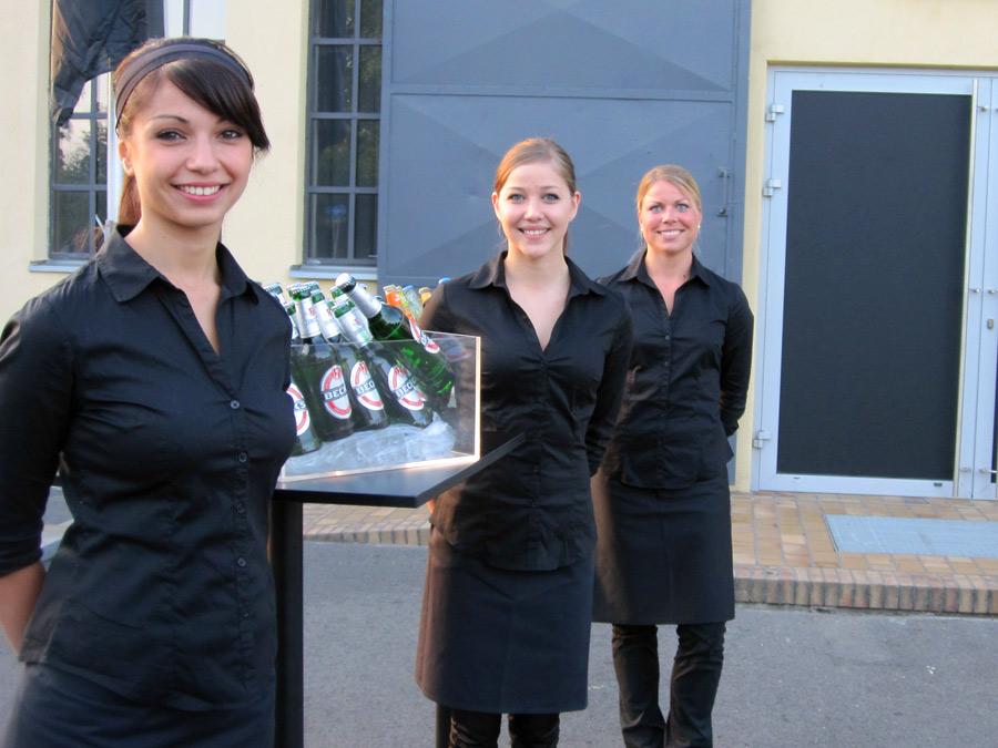 Begrüßungssituation mit Team Frankfurt zur Roadshow