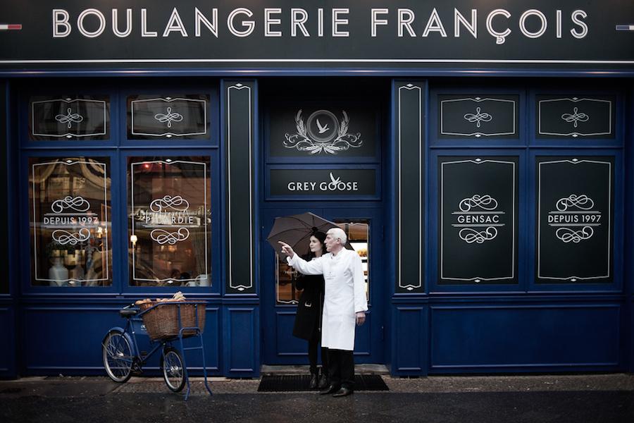 Die Boulangerie Francois in Berlin.