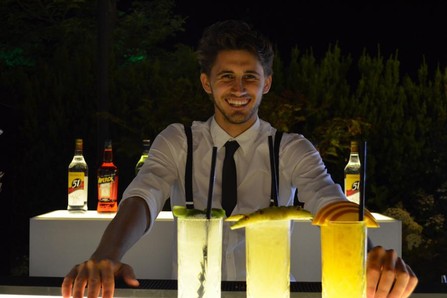 Sommerliche Cocktails an der LUNABar.