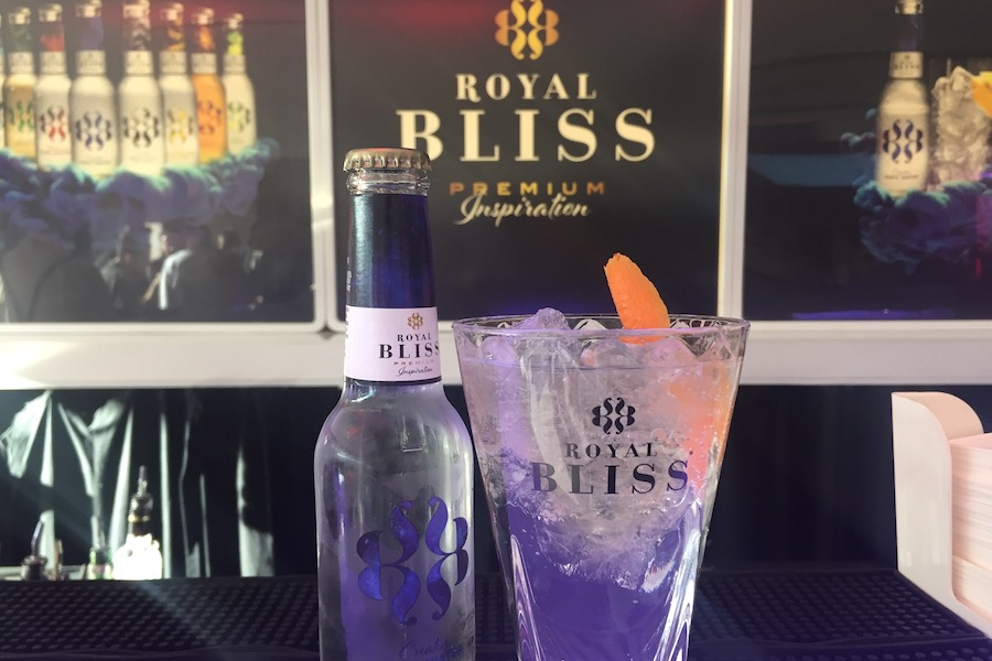 Gin Tonic ROYAL BLISS Creative Tonic.